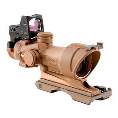 TA01ECOS: Trijicon ACOG 4x32 Dark Earth Brown